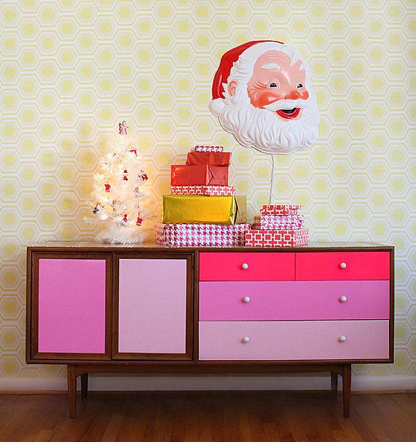 Colorful Christmas display