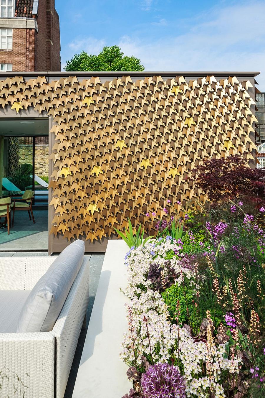 Elegantly designed exterior inspired by nature