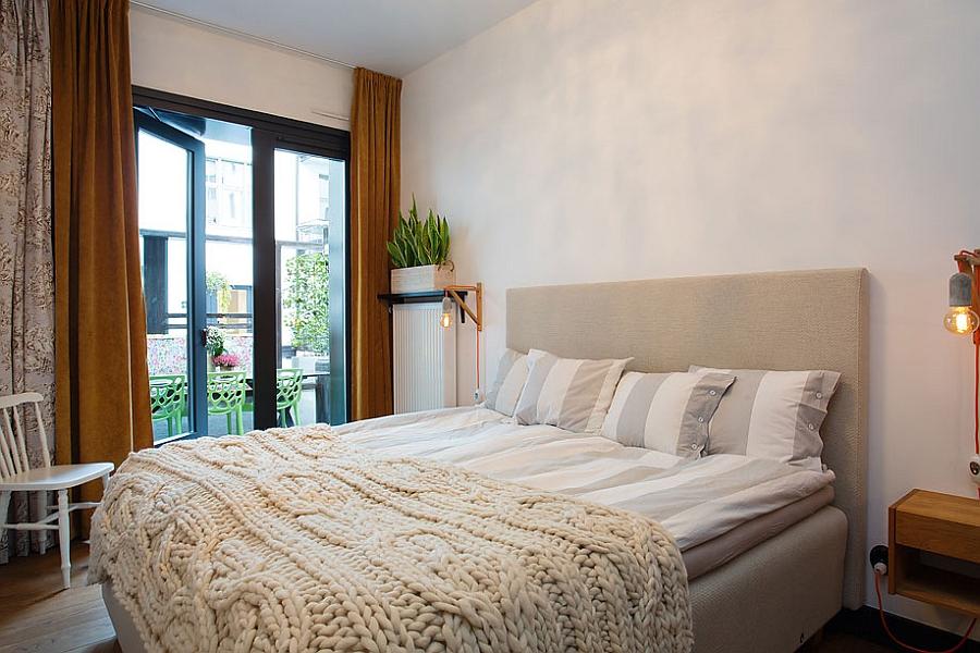 Fabulous bedroom in cool neutral tones