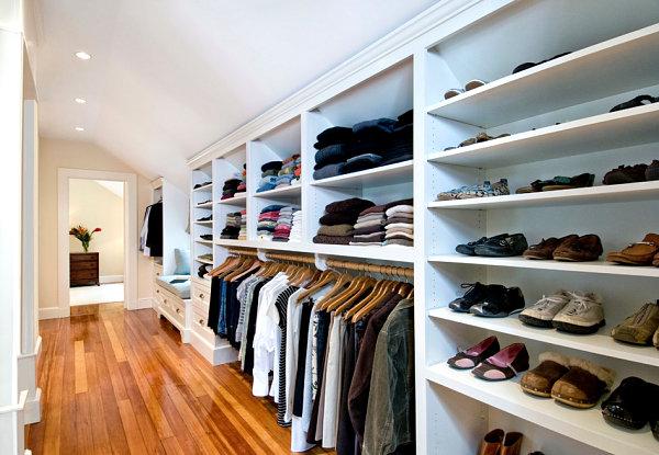Master suite closet