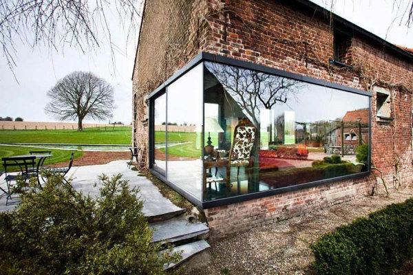 Stylish contemporary Belgian farmhouse