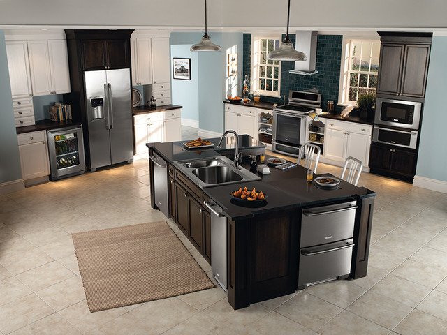 his and hers kitchen