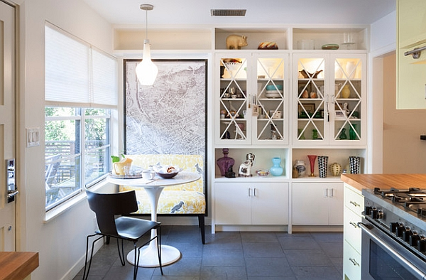 A breakfast nook might be all you need at times!