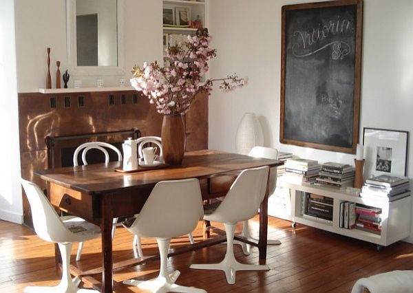 Add some vintage finds to the interior