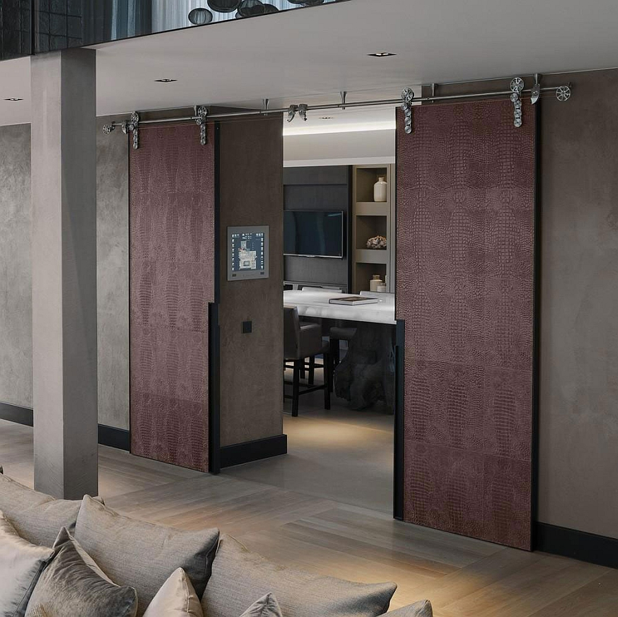Concealed rooms that offer ample privacy