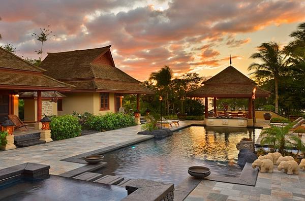 Inspirational idea for a serene backyard