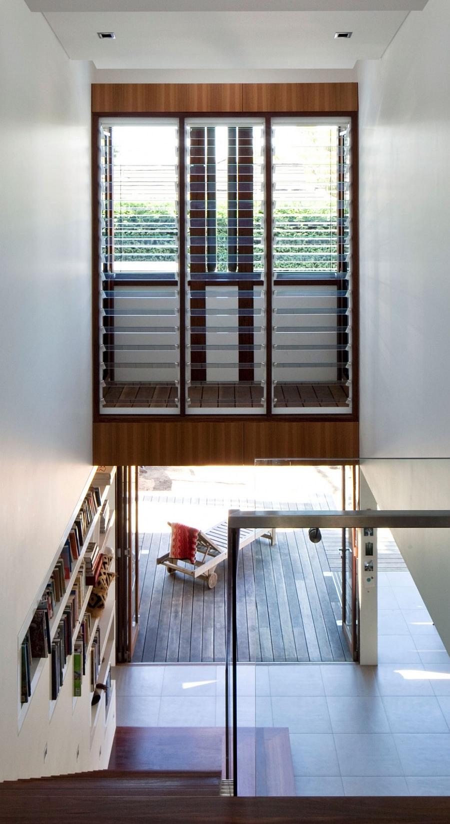 Modern interior of the Mosman House