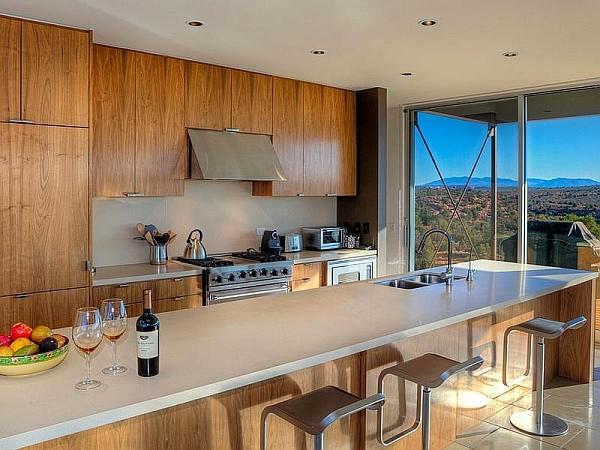 Steel-framed prefab home in Utah