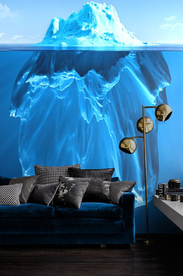 Wall mural that steals the show!