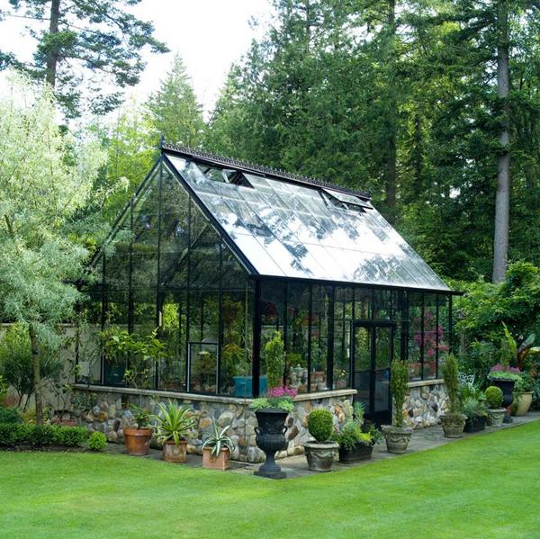 Greenhouse kit black