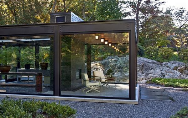 Modern Green house garden