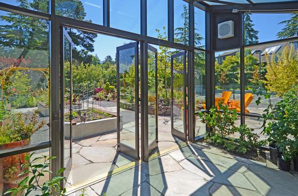 Modern Greenhouse sunroom 3