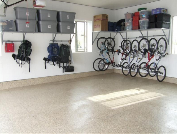 Monkey Bar Garage storage