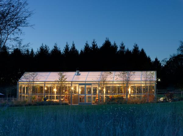 large greenhouse living