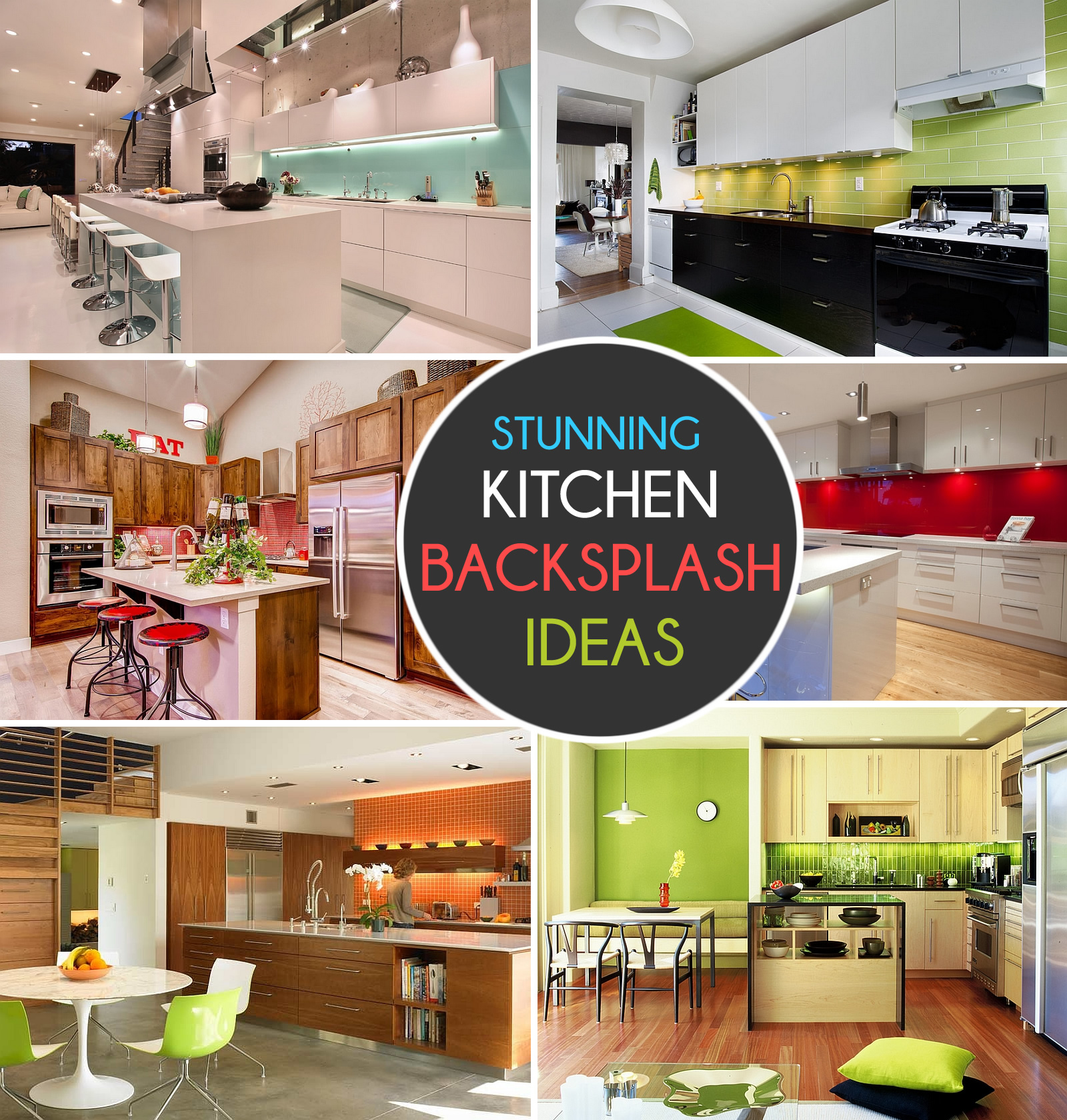 Kitchen Backsplash Ideas A Splattering