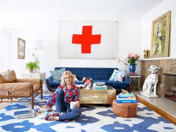 Designer and stylist Emily Henderson