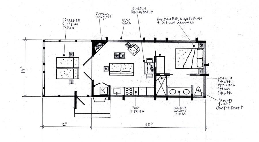 Floorplan of ESCAPE