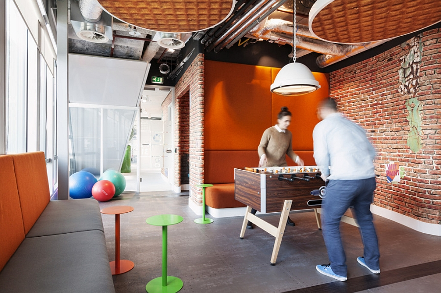 Game room for Google employees