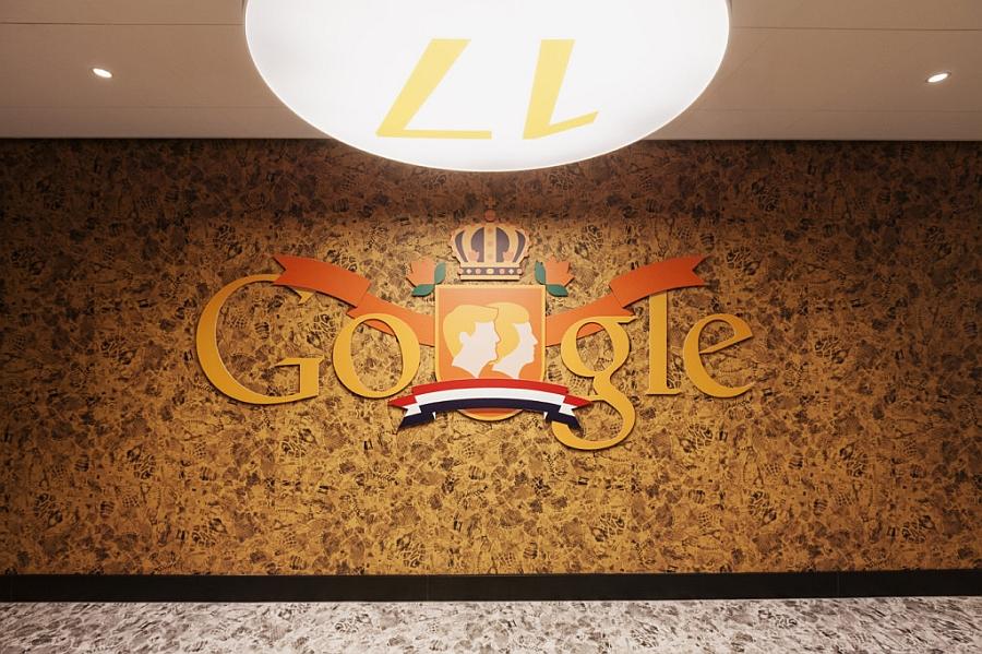 Google logo with some Dutch flavor