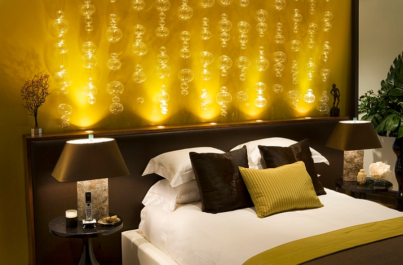 Innovative lighting for the bedroom