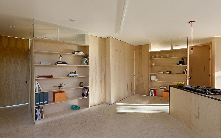 Lovely, flexible wooden interiors