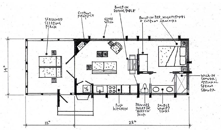 Popular alternative floorplan