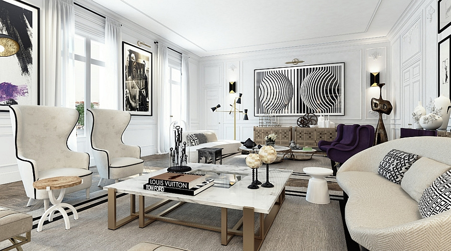 Decor that brings together the classic and modern
