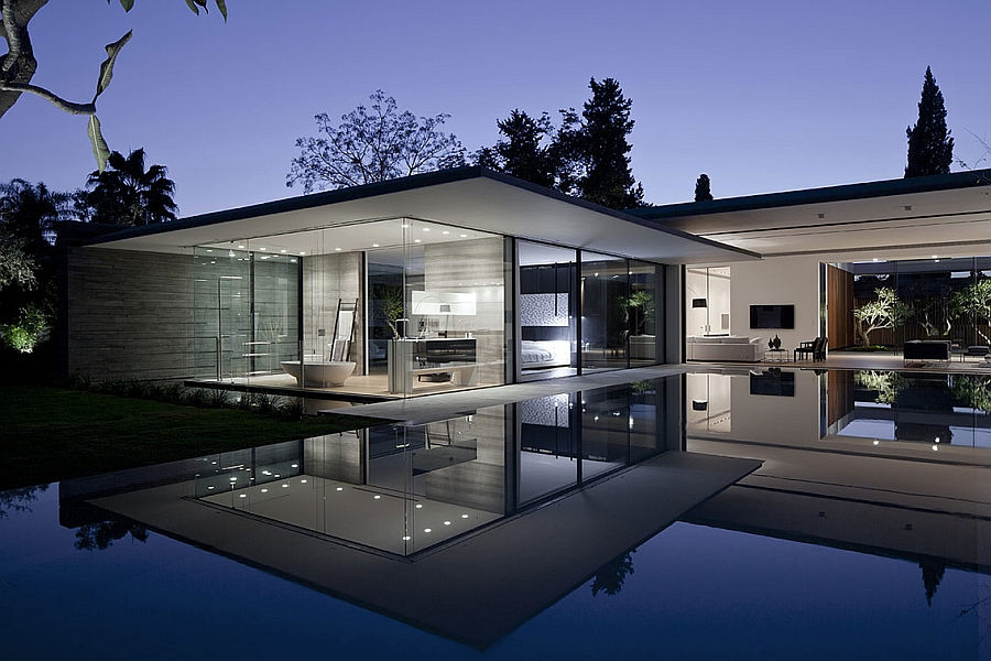 Simple and understated design of the Float House