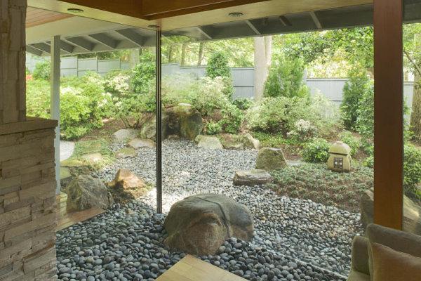 Indoor outdoor zen garden