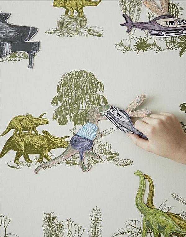 Sian Zeng magnetic Dino Wallpaper