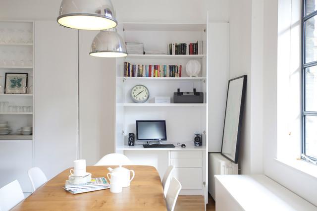 hideaway home office desk