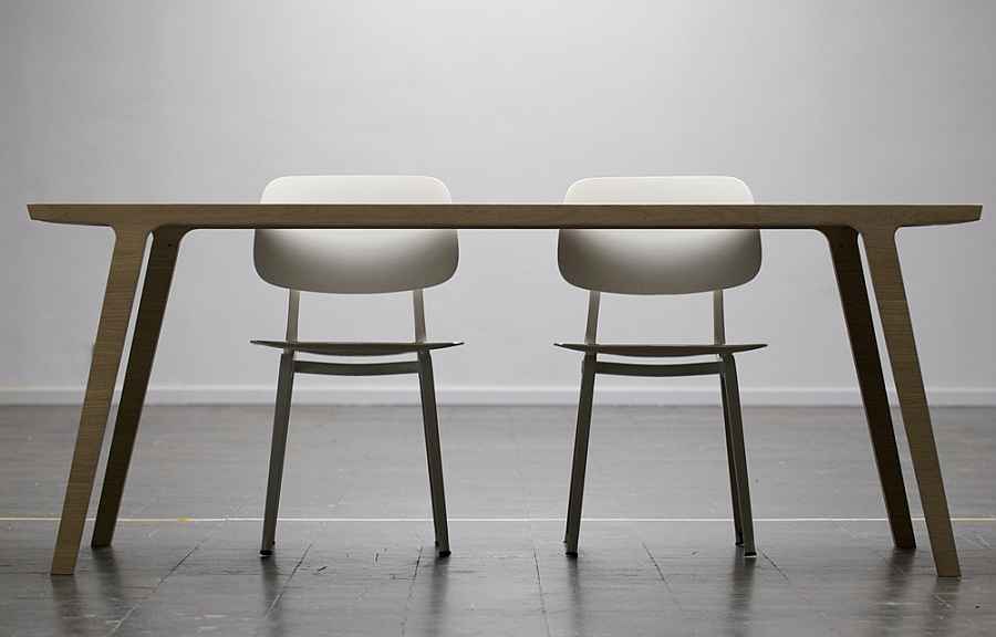 Designer dining table for the minimalist home