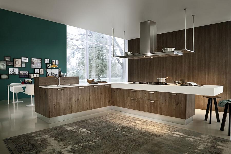 Eko Eco-friendly kitchen from Pedini