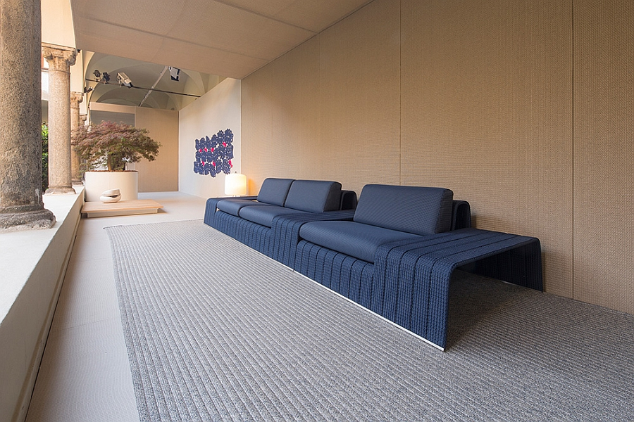 Elegant outdoor decor that is exciting and comfy