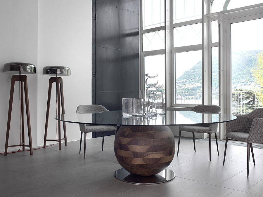 Smart lighting additions for the contemporary dining room