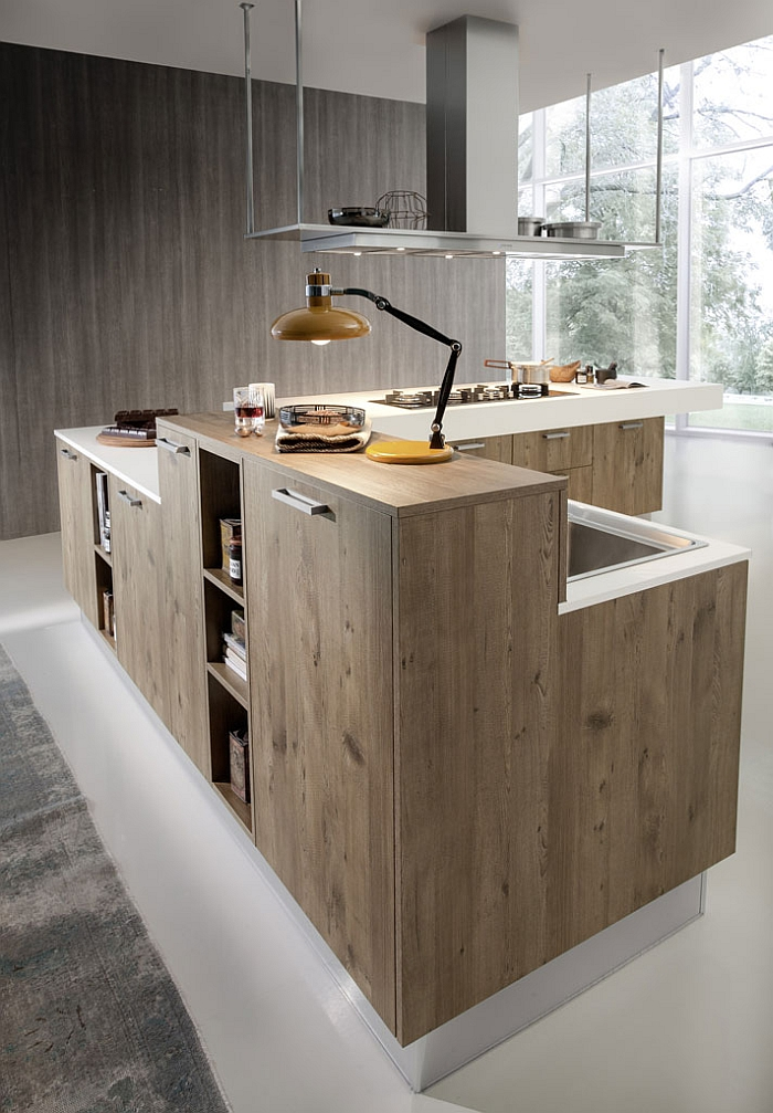 Sustainable modern kitchen that takes inspiration from nature