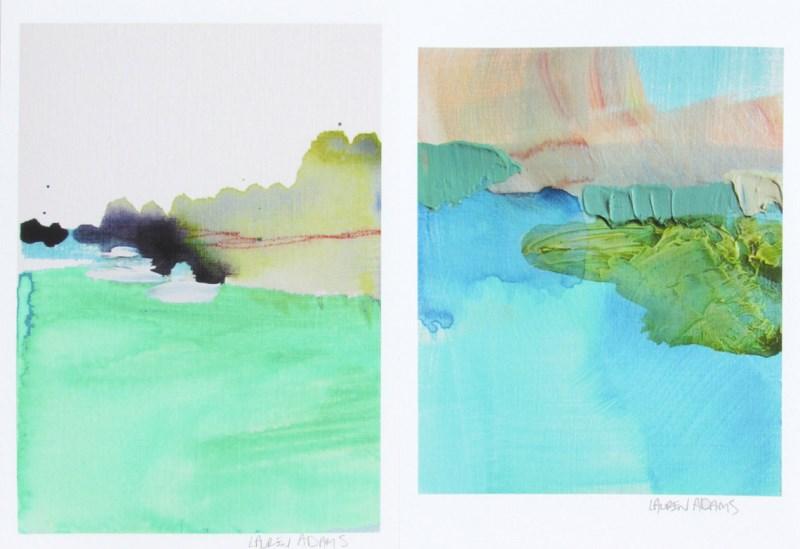Abstract art prints by Lauren Adams