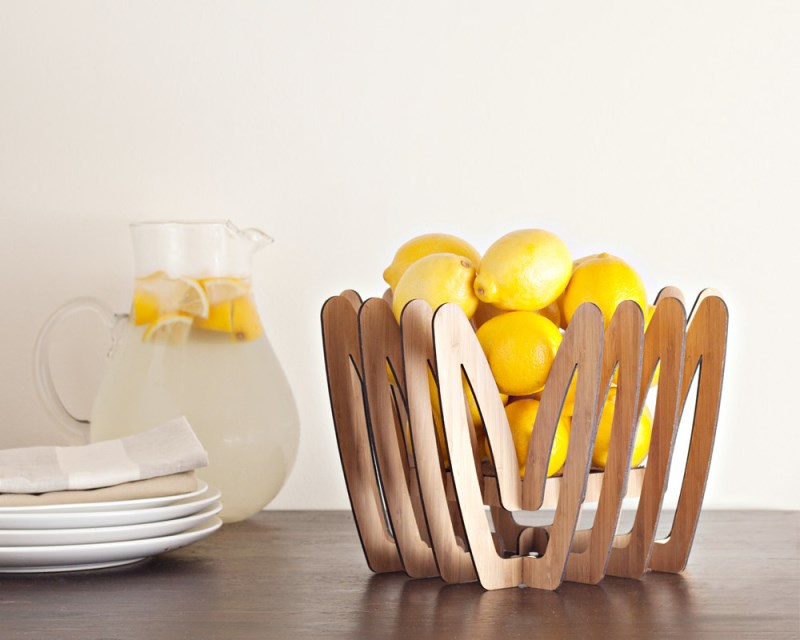 Bamboo Fruit Bowl from buProducts