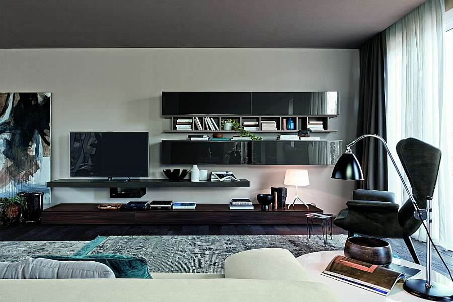 Create a cozy reading nook and a stunning entertainment hub in your living room