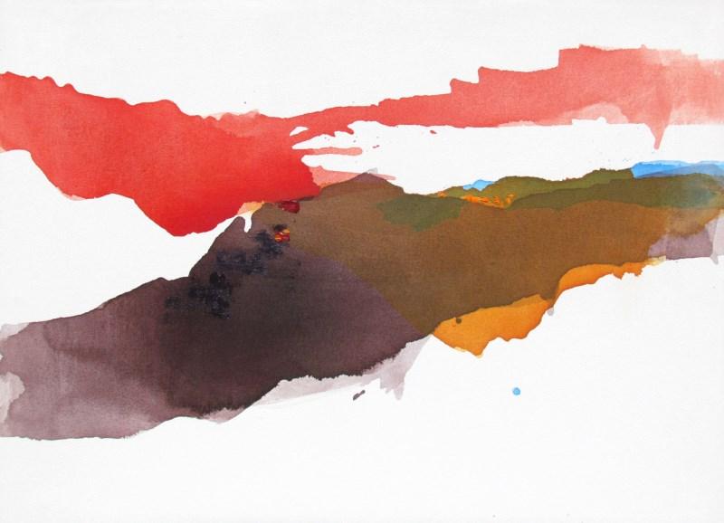Landscape art by Lauren Adams