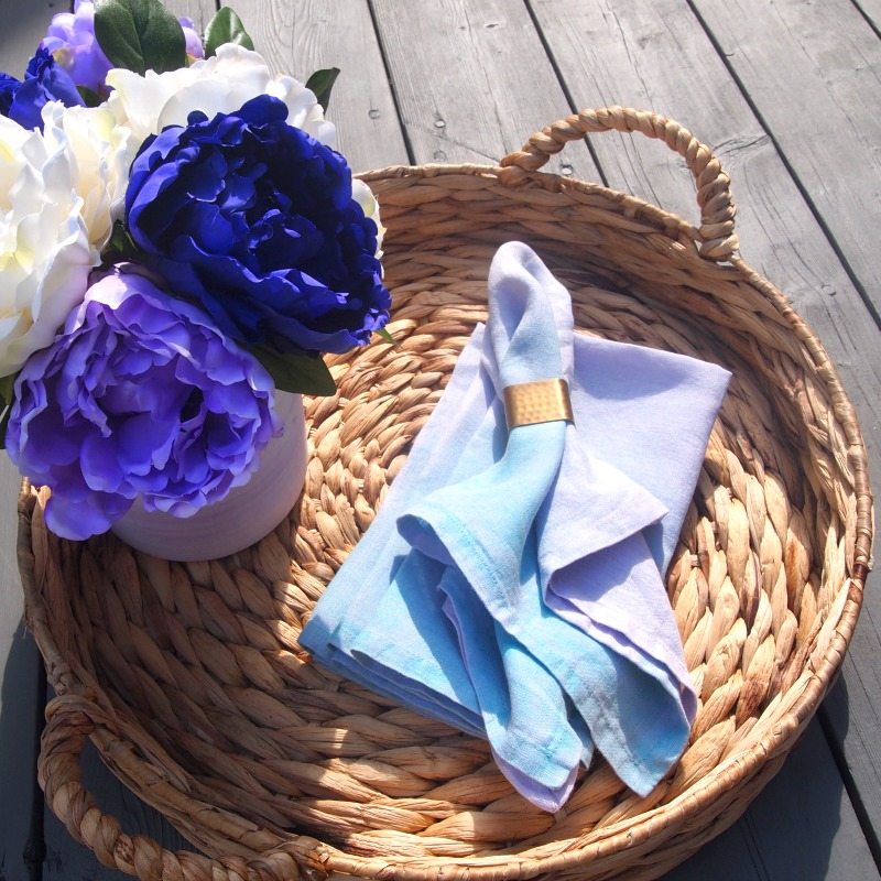 Colorful DIY Napkins that are easy to create