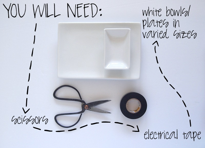 Materials required to shape the trendy geometric Jewelry Tray