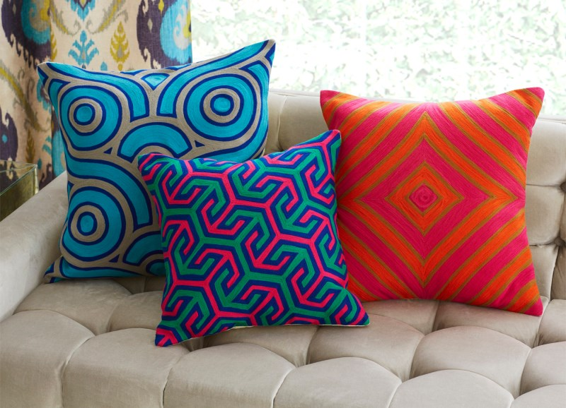 Throw pillows from Jonathan Adler