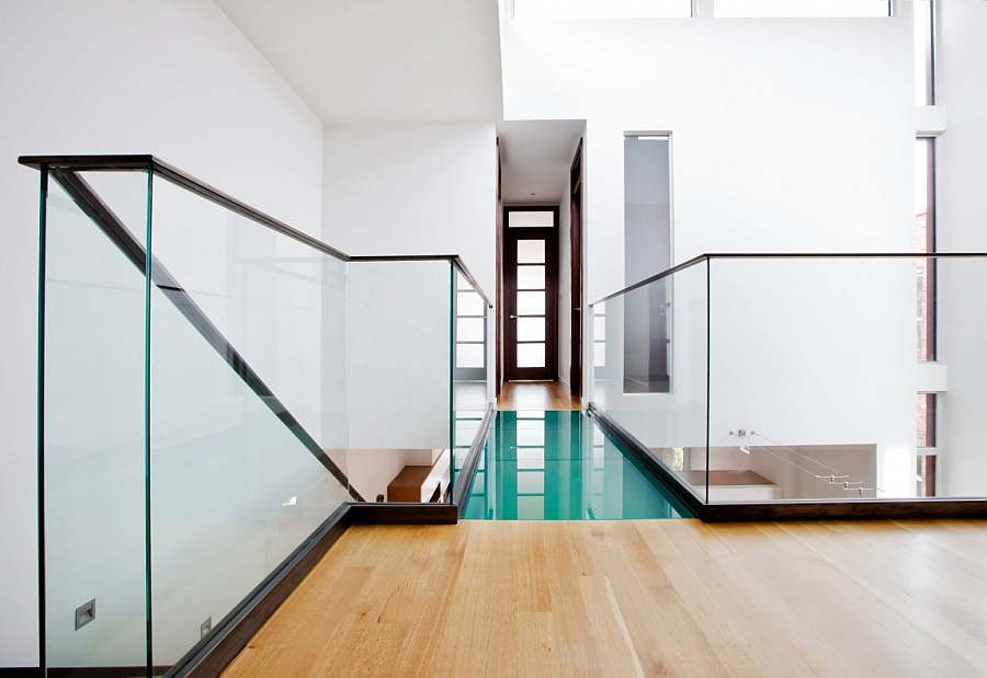 Top level of the Residence Landsowne in Montreal