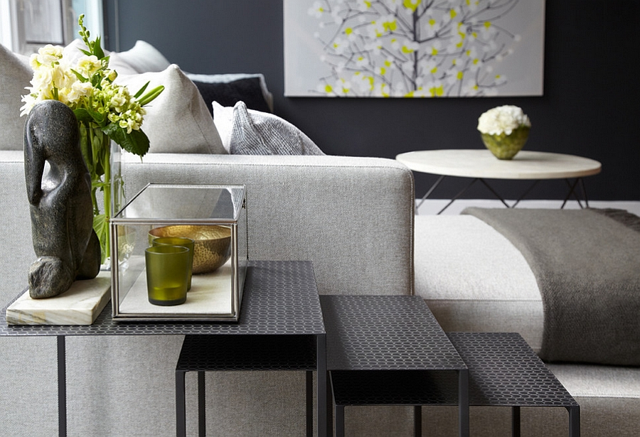 Beautiful nesting tables add a whole new dimension to the living room!