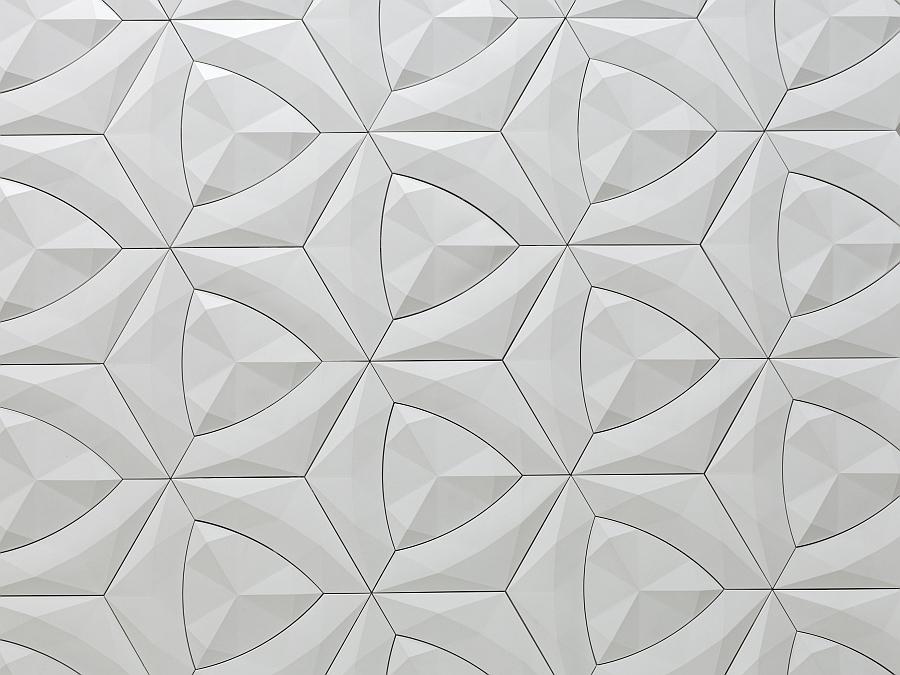 Modern Cruck Tile by Levi Fignar for KAZA