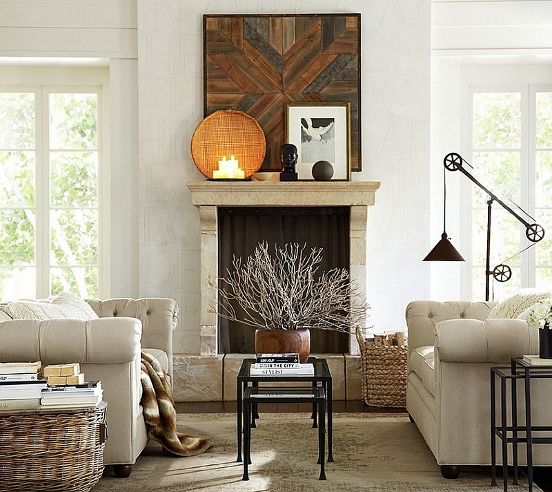 Tanner nesting coffee table from Pottery Barn