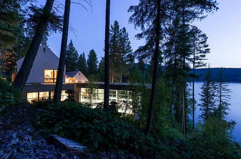 Beautiful Pool House and Spa in Whitefish, Montana