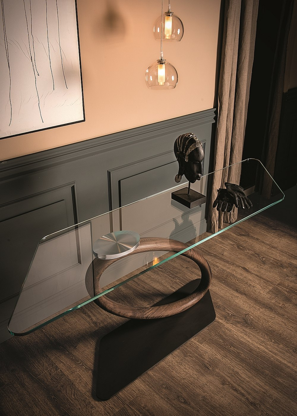 Brilliant console design gives your home a modern minimal style