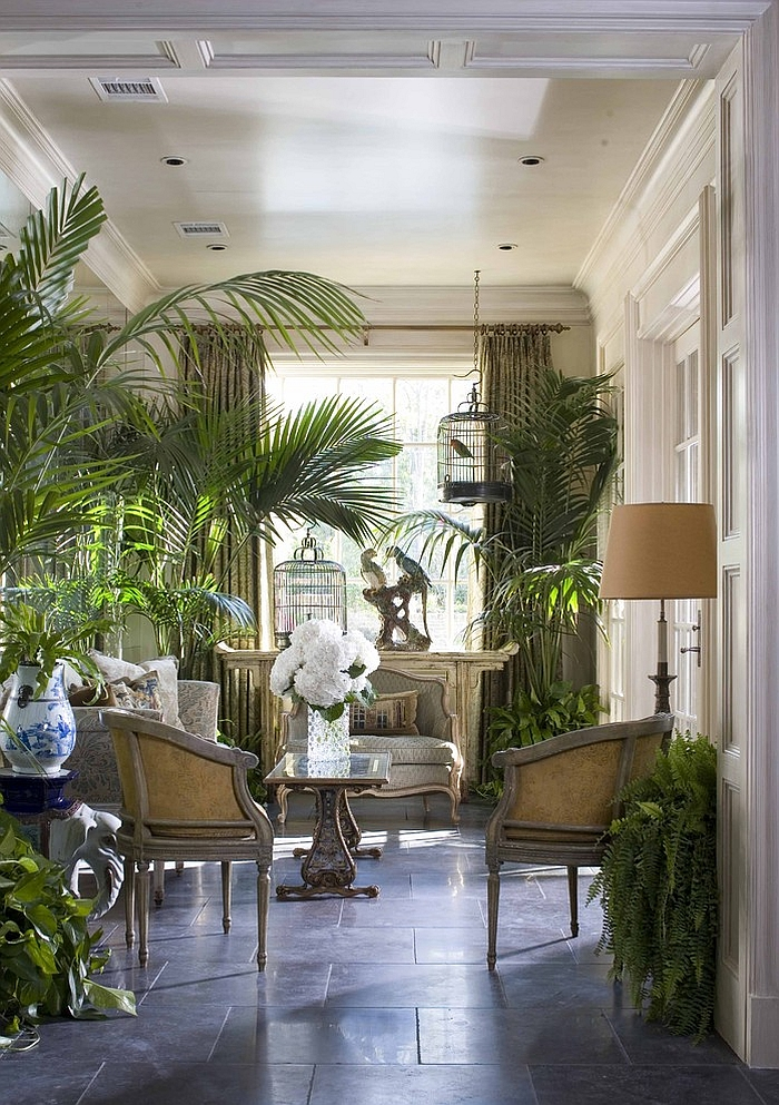 Fabulous sunroom that is all about nature! [Design: Period Homes]